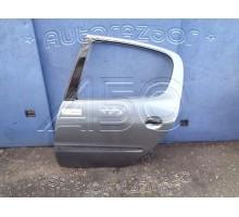 Дверь задняя левая Peugeot 206 1998-2012