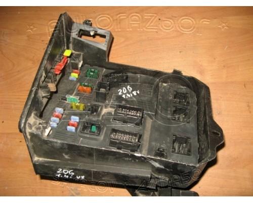 Блок предохранителей (салон) Peugeot 206 1998-2012 (6580YX)