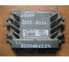 Блок управления двигателя Renault Logan 2005-2014