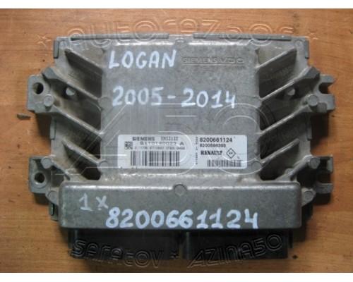 Блок управления двигателя Renault Logan 2005-2014 (8200661124)
