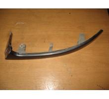 Планка (ресничка) под фару левая Chevrolet Lanos 2004-2010
